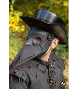 Máscara de Galeno Medieval Negro