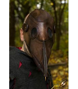 Mascara de Galeno Medieval Marrón