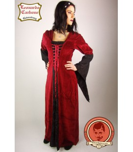 Velveteen dress Elisabeth