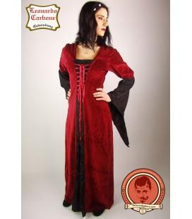 Vestido de terciopelo Elisabeth