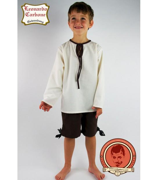 Boys medieval shirt Dicgeor  sc 1 st  Eviltailors & Kids Medieval Costume - Eviltailors