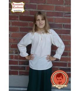 Blusa de manga larga para niñas Gardald
