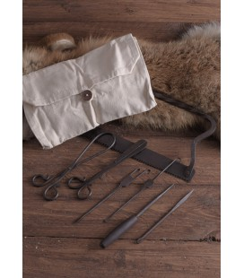 Mitara Hand-Forged Medieval Surgical Kit with Canvas bag