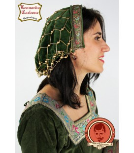 Elaine Capucha Terciopelo Noble - Verde