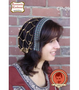 Velveteen bonnet brown