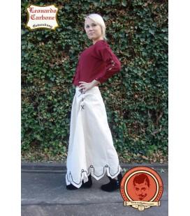 Falda con bordado Lorelei