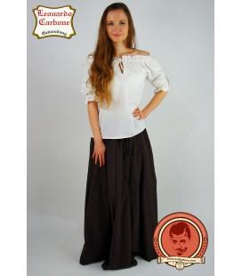 Falda de algodón gruesa Quelana