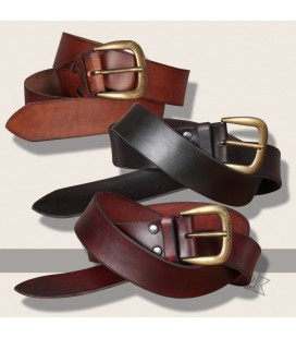 Querkus leather belt