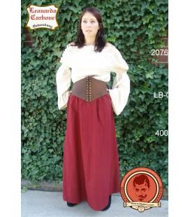 Falda de algodón simple Darla