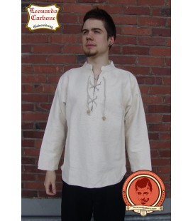 Camisa medieval ligera, de gran tamaño