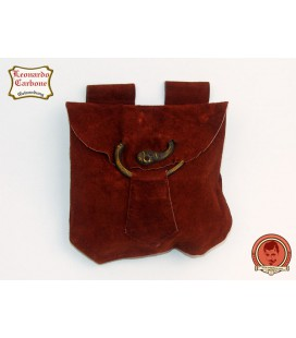 Bolsa de cuero de cinto Arenz