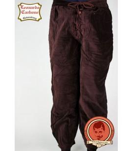 Pantalones de terciopelo marrones - edición limitada