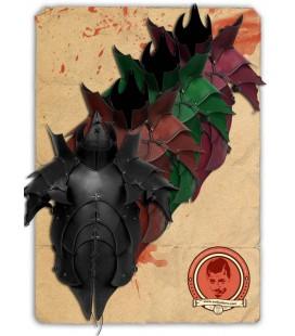 Armadura de cuero de demonio Tak'shome