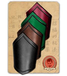 Banda de antebrazo de cuero Lin