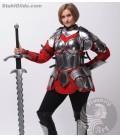 Set de armadura femenina Flamberg