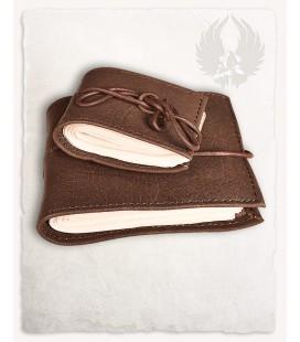 Pocketbook con cubierta de cuero