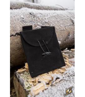 Leatherbag Thin - Black S
