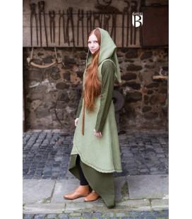 Vestido cruzado Dala - Verde
