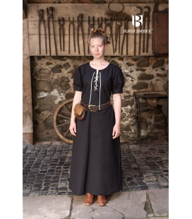 Vestido medieval Gertl - Azul