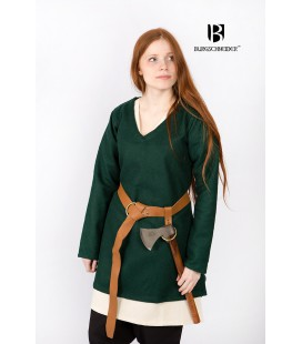 Wool Tunic Frekja - Green