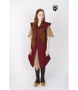 Tunic Meril - Wool Red
