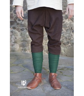 Pantalones de lana tipo Thorberg Fenris - Marrón