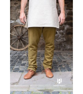 Pantalones de lana tipo Thorberg Fenris - Green