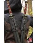 Arnés Doble Espada RFB Negro