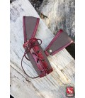 Porta armas Marrón y Rojo RFB