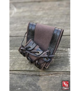 RFB Small holder - Black - Brown and Black
