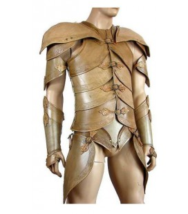 Noble Elf Armor - brown / light brown
