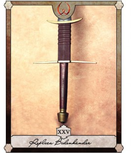 Gabriel double hander sword with ricasso