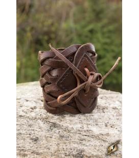 Braided Bracelet - Brown