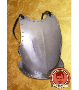 James Medieval Steel Breastplate