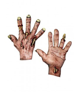 Undead Hands Flesh Latex