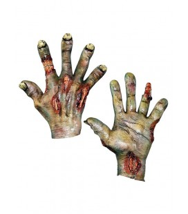Undead Hands Green Latex