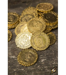 Monedas -Dragones de Oro - 30 pcs