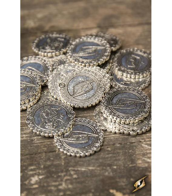 Monedas -Leones de Plata - 30 pcs