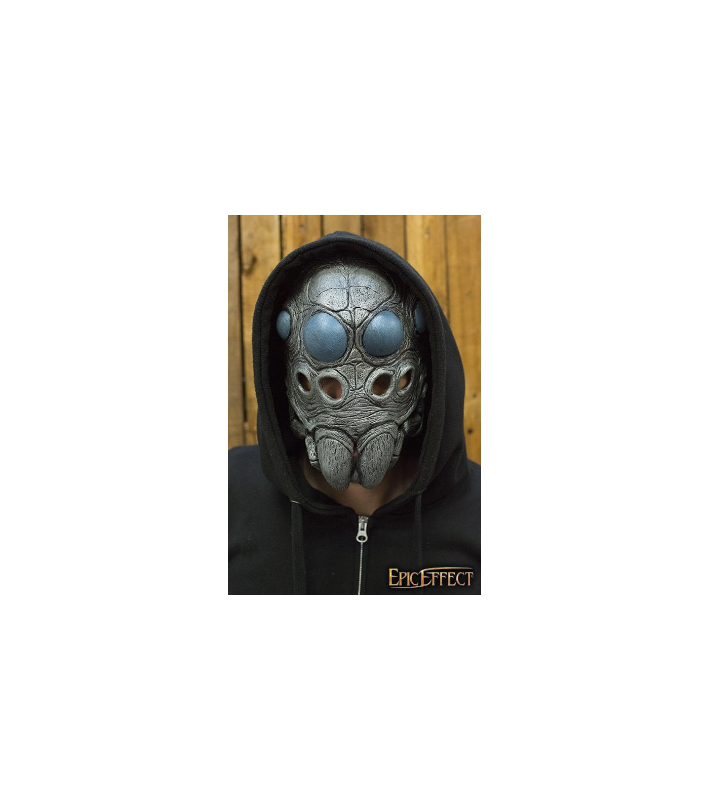 Costume Fantasy Wood Face Trophy Mask in Latex for Stage Re-enactment /& LARP