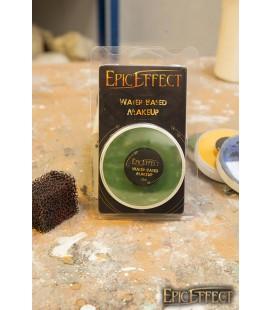 Maquillaje con Base de Agua - Verde Oscuro