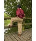 Pantalones Básicos Beige
