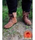 Botas de Caña vuelta Aurin - Marrón