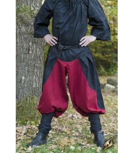 Pantalones Ignis - Negro/ Rojo