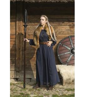 Vestido básico Astrid - Azul oscuro