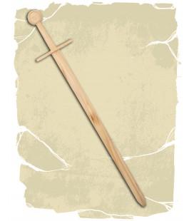 Wooden training sword