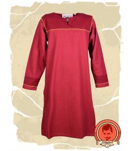 Ove túnica vikinga - Rojo