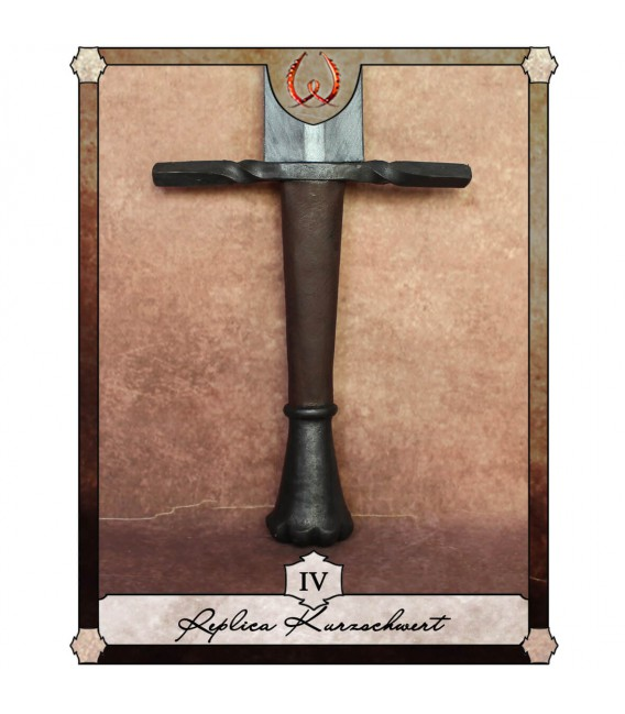 Espada Corta Coronada