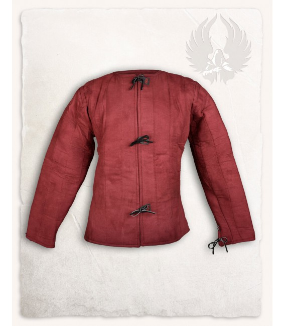 Aulber gambeson jacket canvas bourdeaux - Limited Edition.