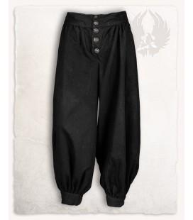 Ataman pantalón de algodón Negro