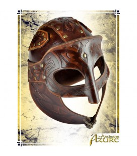 Viking, Yelmo de cuero